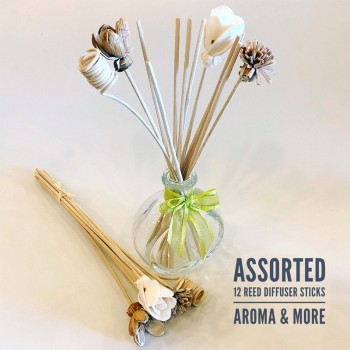 Reed Stick Diffuser 12 Pcs...