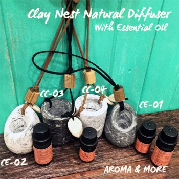 CLAY NEST NATURAL DIFFUSER...