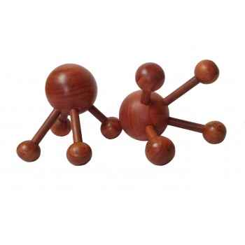 WOOD PRESSURE POINT MASSAGER