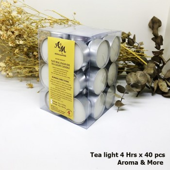 Tealight Candle 40 Pcs/Pack...