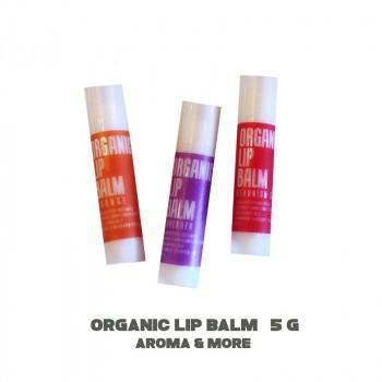 Organic Lip Balm -Lavender -5g