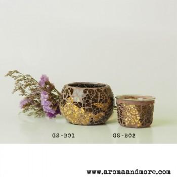 Fancy Glass for Tea light -...
