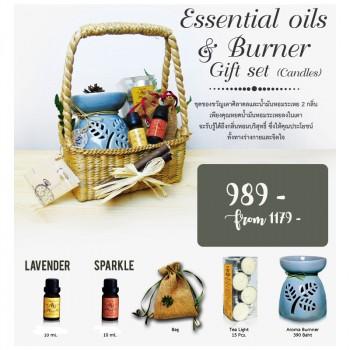 Gift set -Aroma burner +...
