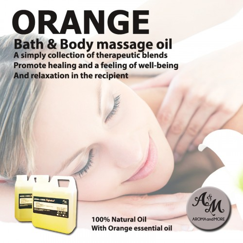 Orange Bath & Body Massage...
