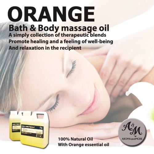 Orange Bath & Body Massage...