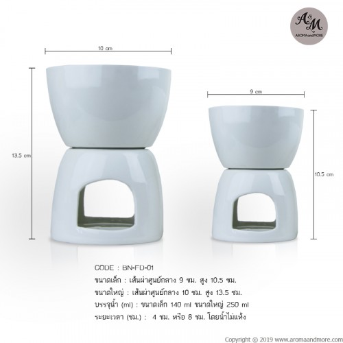 Aroma Burner Porcelain...