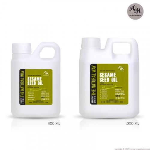 Sesame Seed Oil - Virgin,...