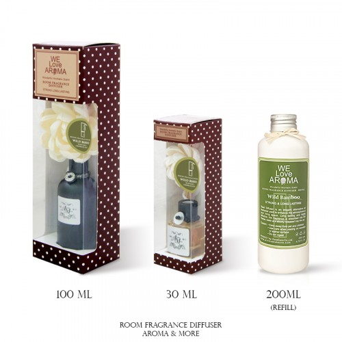 Wide Bamboo Room Fragrance...