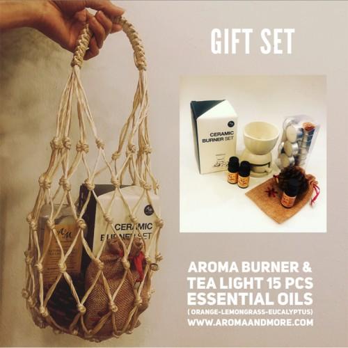 Gift set Aroma burner + Tea...