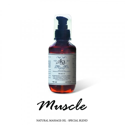 Muscle Massage Oil Blend...