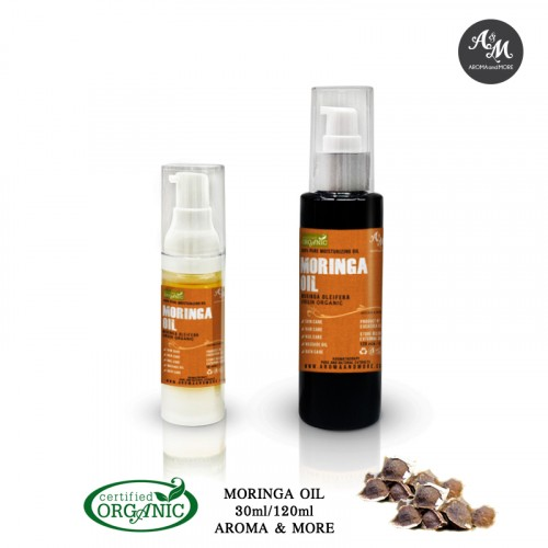 Moringa Seed Oil - Virgin,...