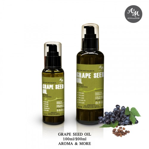 Grape Seed Oil, Refined -...