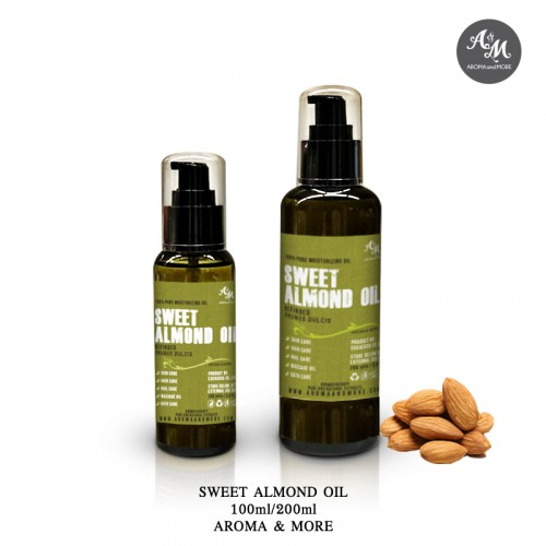 Sweet Almond Oil - Refined,...