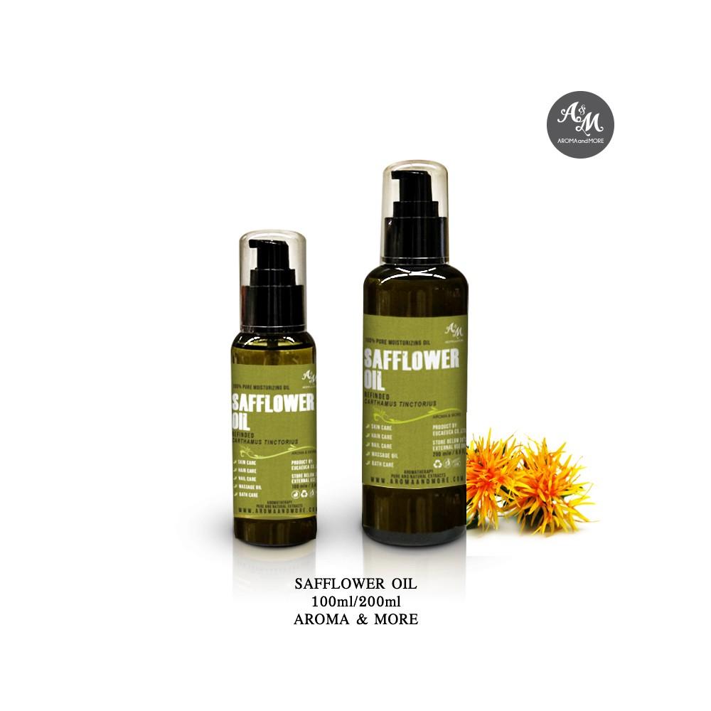 Safflower Oil (High Linoleic), น้ำมันเมล็ดดอกคำฝอย Refined, Spain (Cosmetic grade)