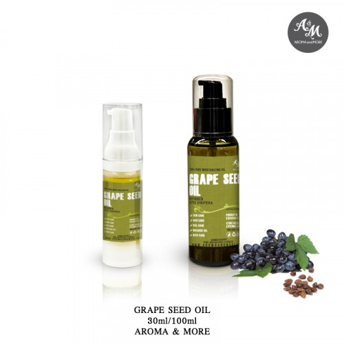 Grape Seed Oil-Cold pressed...