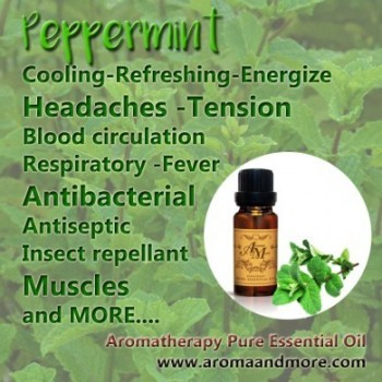 Peppermint Essential oil,...